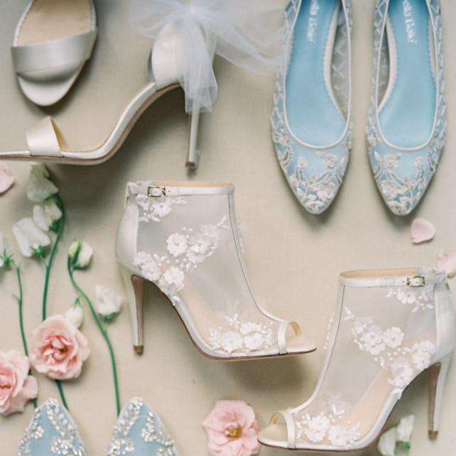 217e22855 Коллекция свадебной обуви Bella Belle весна 2017
