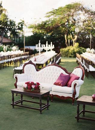 Свадьба в золотом с персиковым цветом