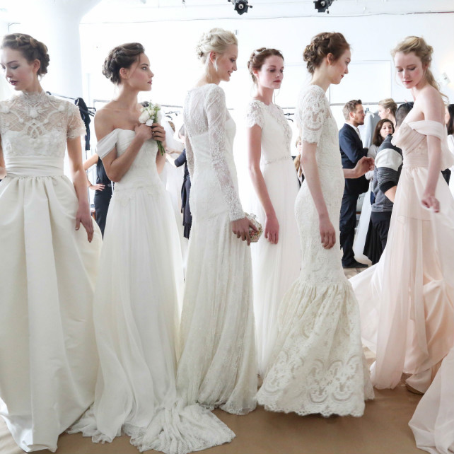 Wedding Week A Few Surprises: 20 самых красивых свадебных платьев Bridal Fashion Week
