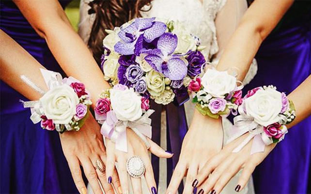 Фото браслеты для подружек невесты своими руками