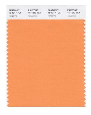 модные цвета свадьбы 2015, tangerine, оранжевый