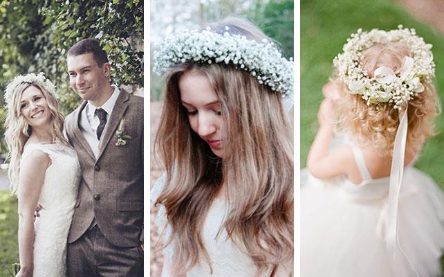 Как сделать венок невесты