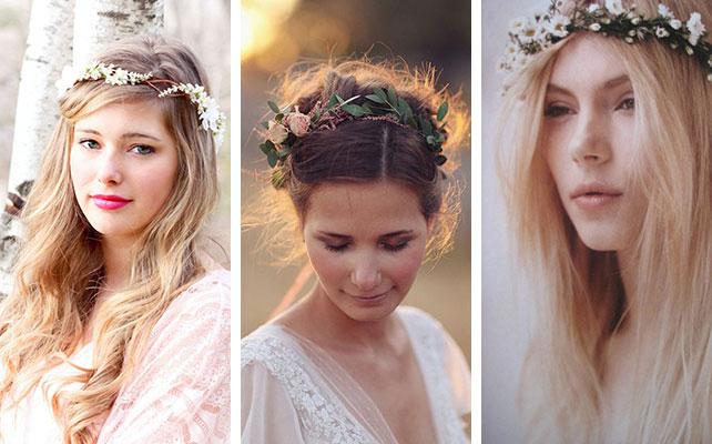 минималистичные свадебные венки