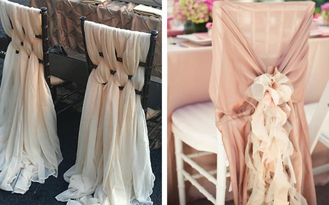 Накидки на стулья на свадьбу 9