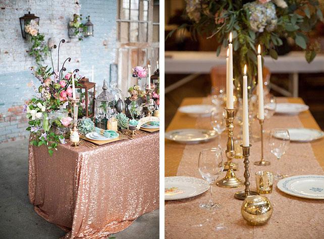 Элементы декора на свадьбу