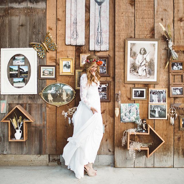 Декор из дерева на свадьбу