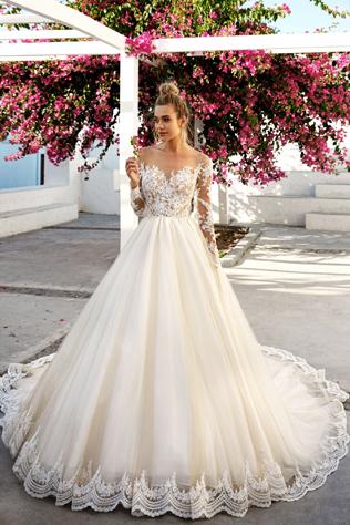Свадебные платья фото на лето