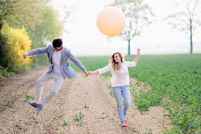 фотосессия в честь помолвки