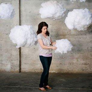 Как сделать облако из синтепона для декора свадьбы