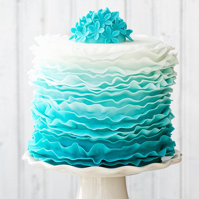 Белый свадебный торт как вечная классика и варианты сочетания с другими цветами