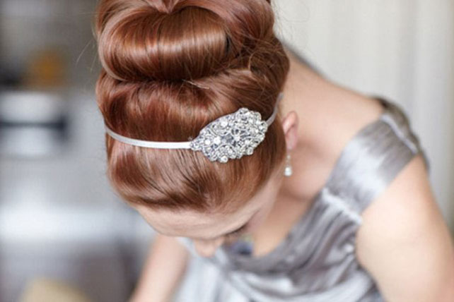 Вдохновение причёски для невесты в
