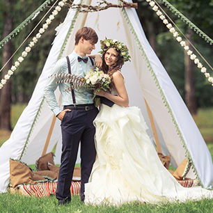 Свадьба в стиле бохо фото невесты