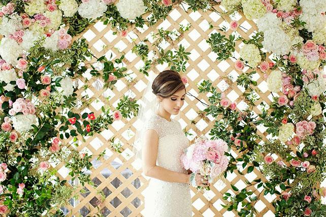 Фон для фотозоны на свадьбе