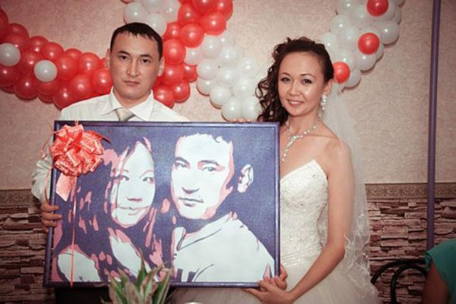 Оригинальный подарок молодым на свадьбу