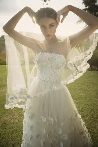 Коллекция свадебных платьев Oved Cohen осень-зима 2015