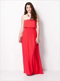 Платье подружек невесты красное