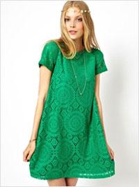 платье подружек невесты зеленое