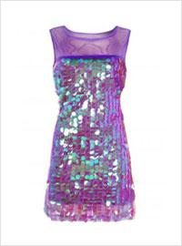 платье подружек невесты фиолетовое