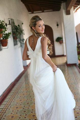 Спина платье оригинальное