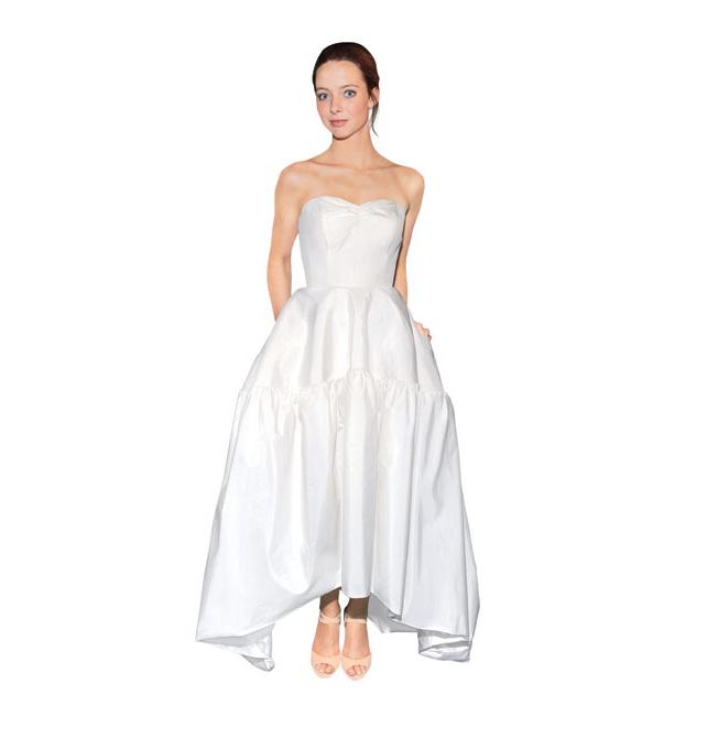 Кружевное свадебное платье от carolina
