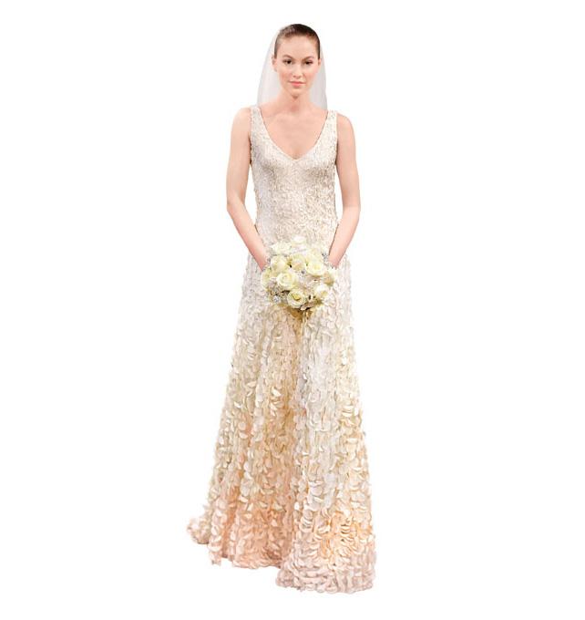 Тренды 2014: Свадебные платья, омбре