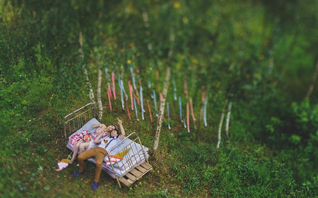 Как украсить поляну для фотосессии