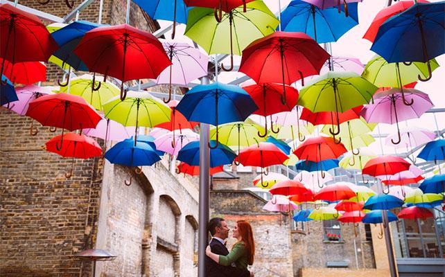 Зонты в декоре