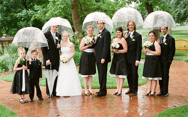 Поздравления с днем свадьбы с зонтиком 29