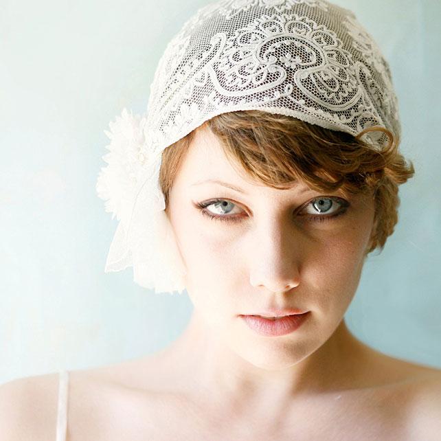 Bridal cap мастер класс