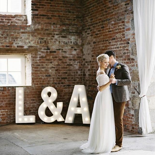 Изысканная простота: свадьба в стиле лофт