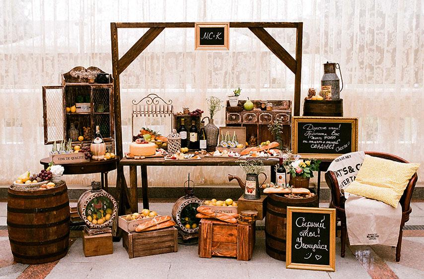 Сырные столы на свадьбу 100