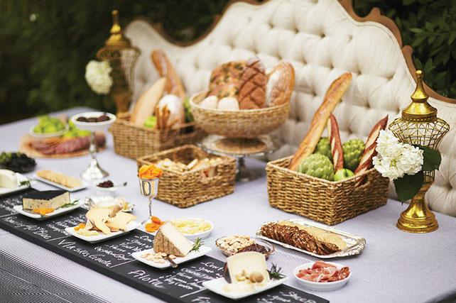 Сырные столы на свадьбу