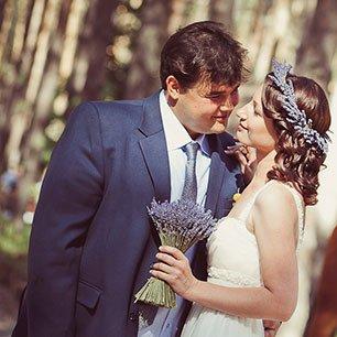 Лавандовая свадьба Александра и Екатерины