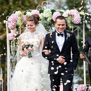 Гламурная свадьба в бирюзовом и розовом цветах