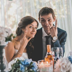 Ирина и Дмитрий: свадьба в морском стиле