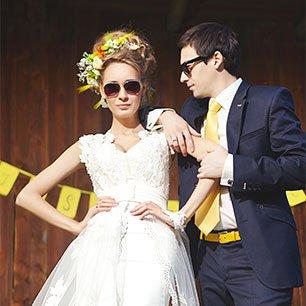 Вкусная свадьба Романа и Александры: лимон с корицей