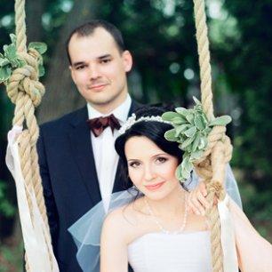 Богемная лесная свадьба Маши и Романа