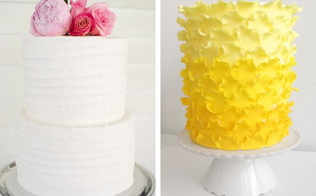 Основа свадебного торта