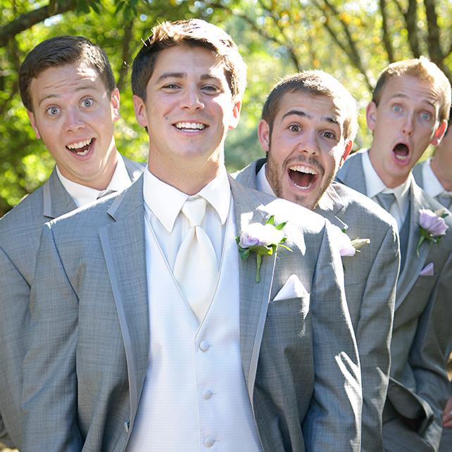 20 забавных фото друзей жениха