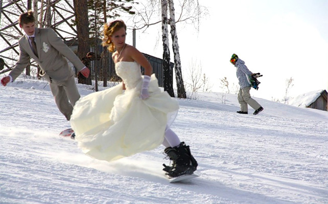 Покатушки на свадьбе