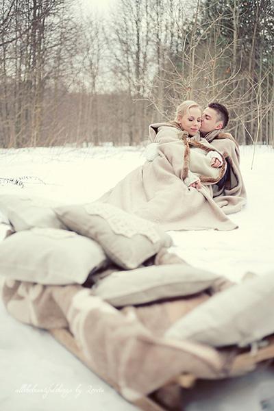 Романтика на свадьбе