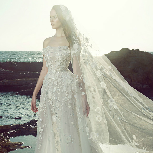 Коллекция свадебных платьев Zuhair Murad весна 2017