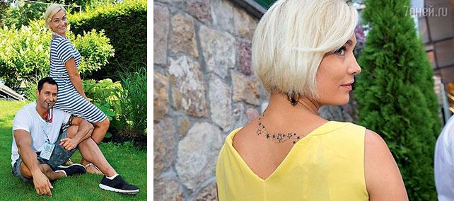 Стас и Юлия Костюшкины сделали татуировки на годовщину свадьбы