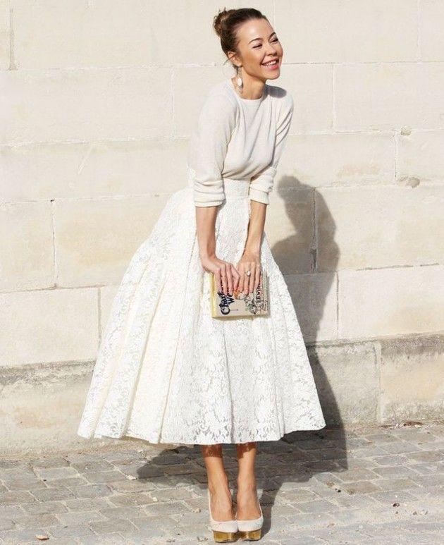 Платье и прическа ретро