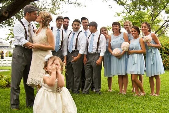 Невеста и друзья жениха