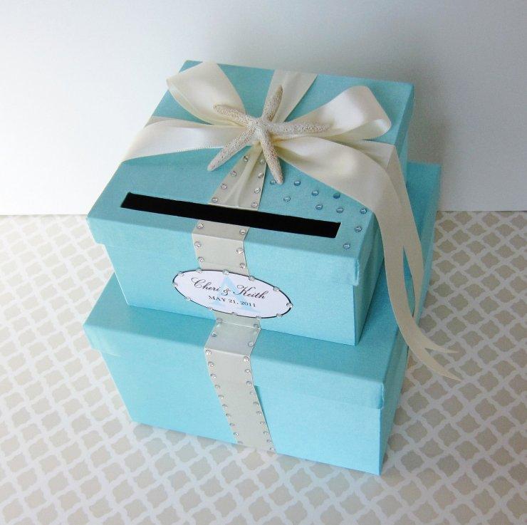 Как украсить коробку на свадьбу своими руками 113