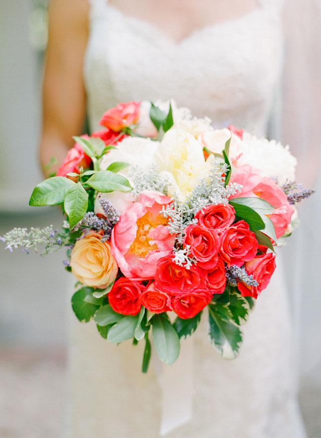Цветов осе, букет невесты на август