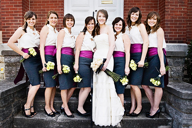 Skirt at wedding