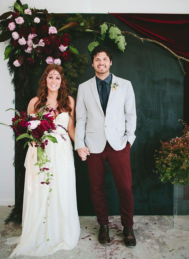 Beck hall wedding