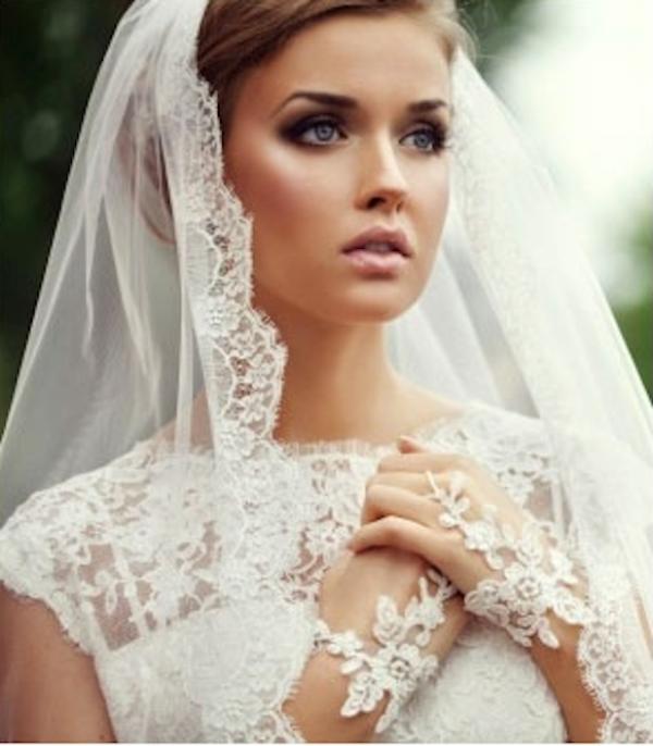 Свадебные прически для длинной фаты